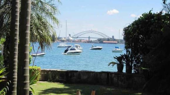 Point Piper harbourfront with Chinese pagoda boathouse listed without any big bang