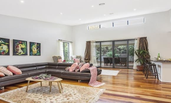 Modern two-storey Deakin house sold for <img src=