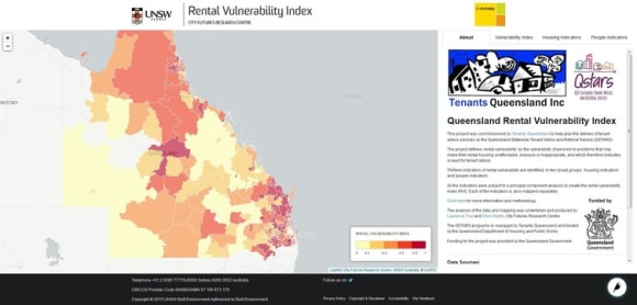 Two pictures of rental housing stress and vulnerability zero in on areas of need