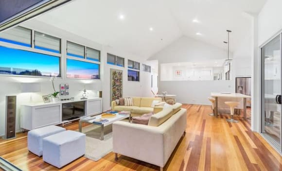 Beachfront Casuarina house listed for