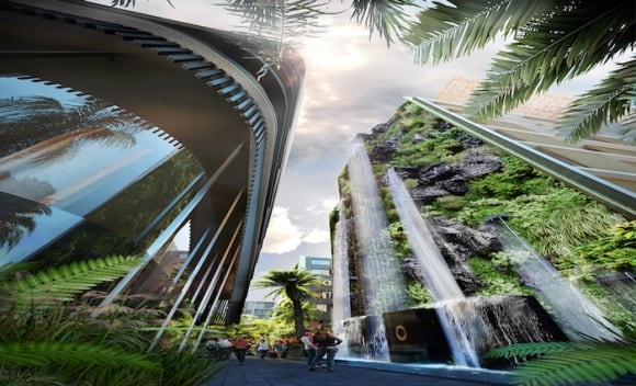 Waterloo's Waterfall by Crown Group launching this weekend