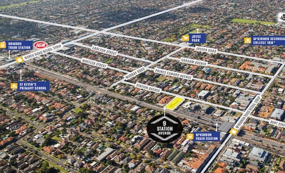 Townhouse site in Melbourne's McKinnon sells for