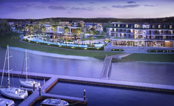 Joint venture partners being sought for Trinity Point, Lake Macquarie tourism project
