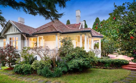 South Yarra trophy home sells for over  million