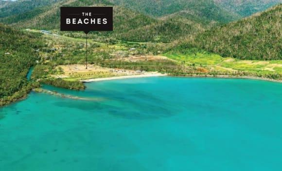 Beachfront sites near Whitsundays on the market