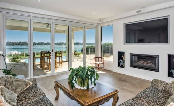 Lakefront Nagambie house listed for <img src=