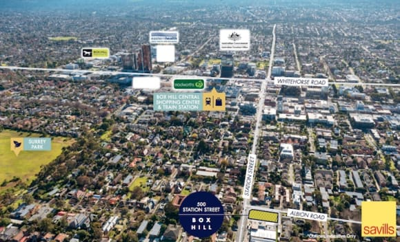 Box Hill corner site sells on first day to Chinese buyer for .5 million: Savills
