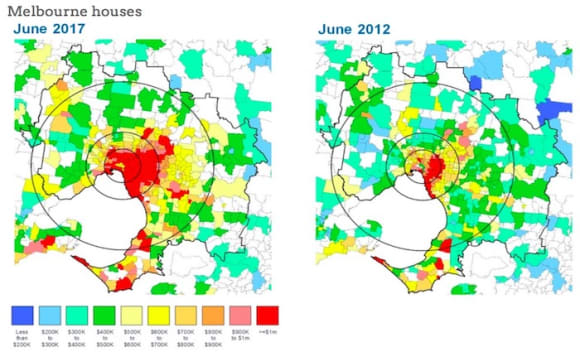 Affordable housing in Sydney and Melbourne declines in past 5 years