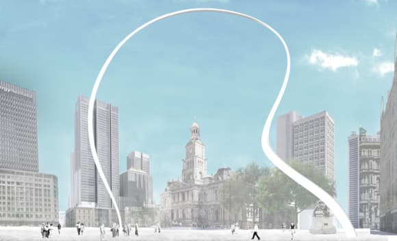 Possibly iconic artwork signals day Sydney becomes