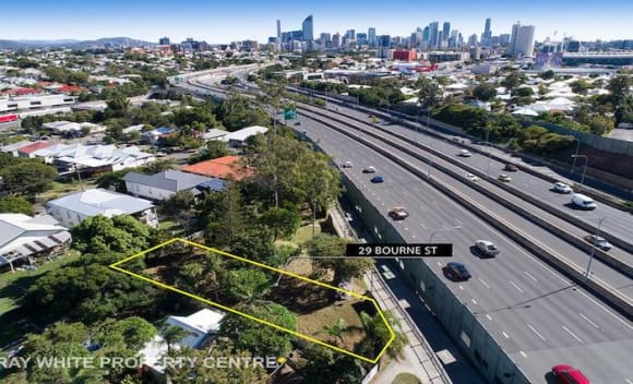 Woolloongabba, Queensland vacant land listed for mortgagee sale