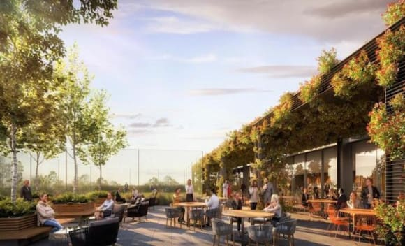 105 Phillip Street Parramatta tops out: Dexus
