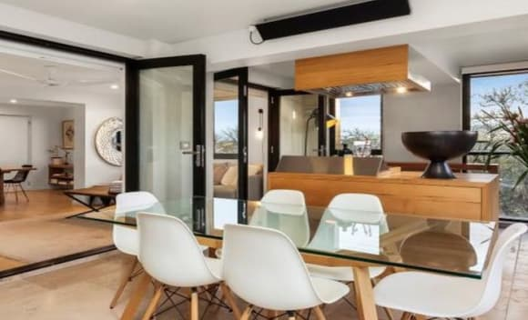 Madi and Jarrod's sub-penthouse from The Block Sky High series listed