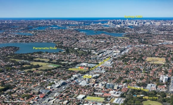 Mixed-use development site in Sydney's inner west listed