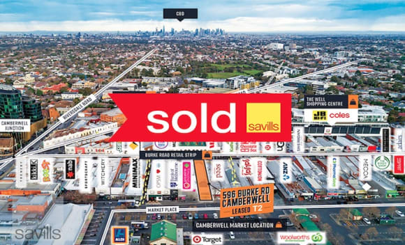 Camberwell retail property sells for  million through Savills