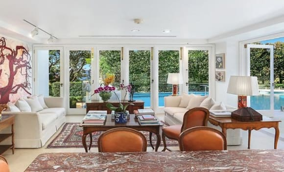 Brambles chairman Stephen Johns accepts offer for his Bellevue Hill home, Belhaven