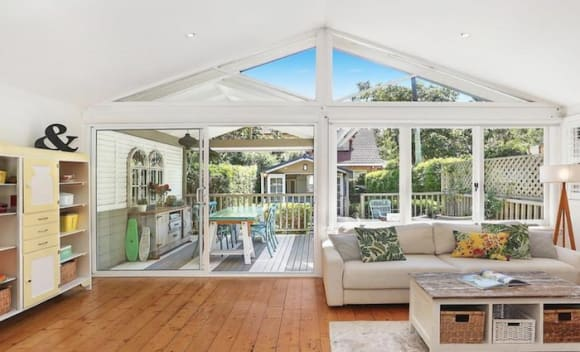 Juanita Phillips and Greg Combet list lower North Shore cottage