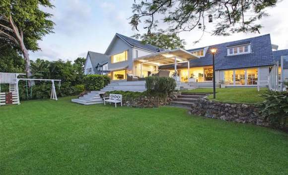 Cape Cod-style Broadbeach Waters trophy home listed
