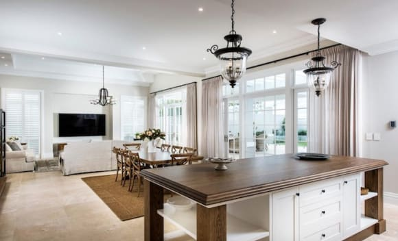 Custom built, French provincial Dalkeith home under contract