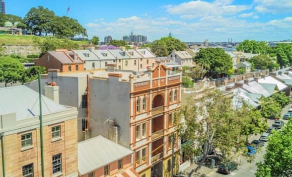 million paid for Sydney's first apartment block at Millers Point