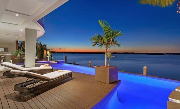 High-profile equestrian couple list Sovereign Islands mansion Santosha