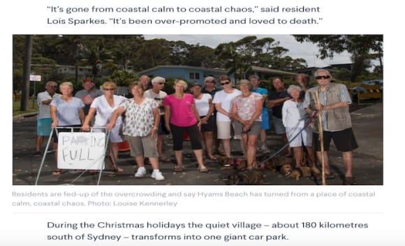 Mayhem at Hyams with CommBank's Catherine Livingstone turning activist