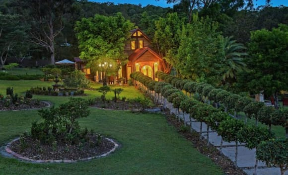 Magnolia Manor in the Gold Coast hinterland listed