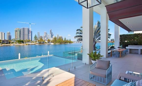 Riverfront Paradise Waters residence on market for over 2 year