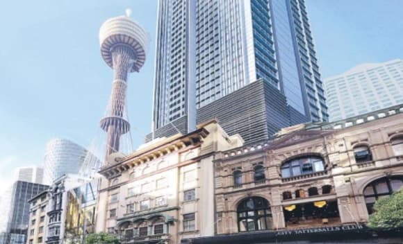 Plans for 49-Storey Pitt Street Tower Lodged with City of Sydney