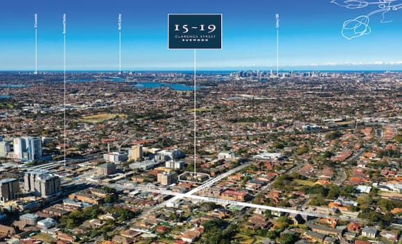 Burwood residential complex for sale through Savills with 26 apartments