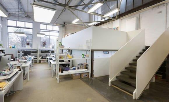 Acting agent Mark Morrissey lists Rosebery warehouse