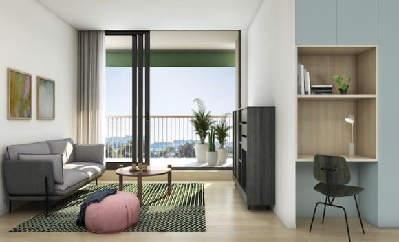 Parkside apartments to overlook Flemington Racecourse