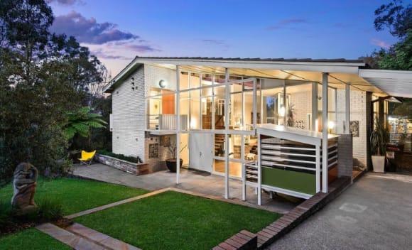 Harold R. McCauley-designed East Killara modernist trophy home listed