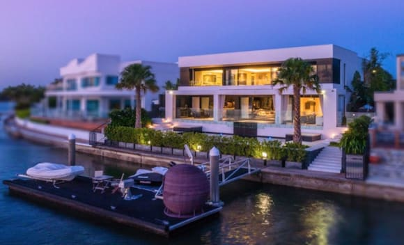 Sovereign Islands waterfront inspired by Miami's Star Island homes listed