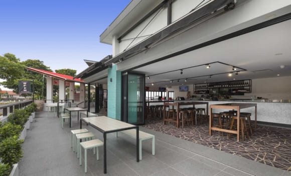 Publican Peter Braithwaite has purchased The Red Lion Hotel in Moorooka