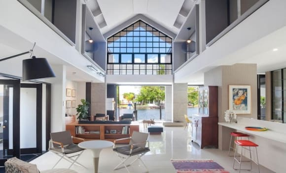Modernist Frank Macchia designed Noosa home for sale