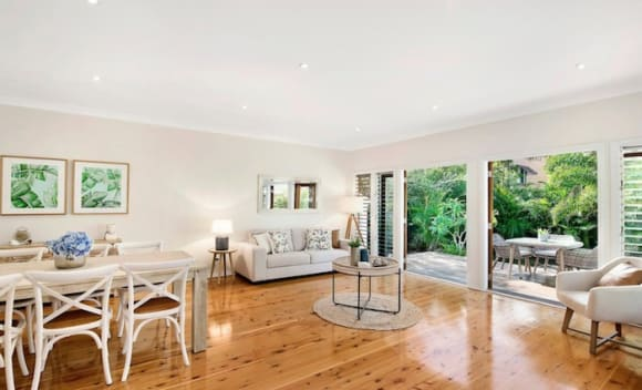 Professional surfer Ozzie Wright lists in Narrabeen