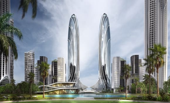 Australia's DBI Design overseeing new  billion micro city in China