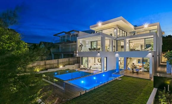 Some softening in prestige prices in Sydney's trophy home market