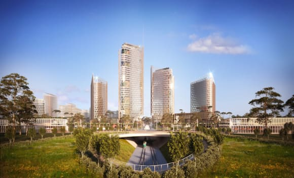 Sydney World Trade Center proposed with plans for zero carbon development
