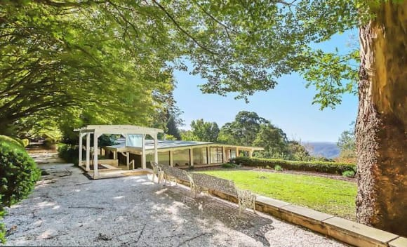 Mount Wilson garden estate with valley views hits the market