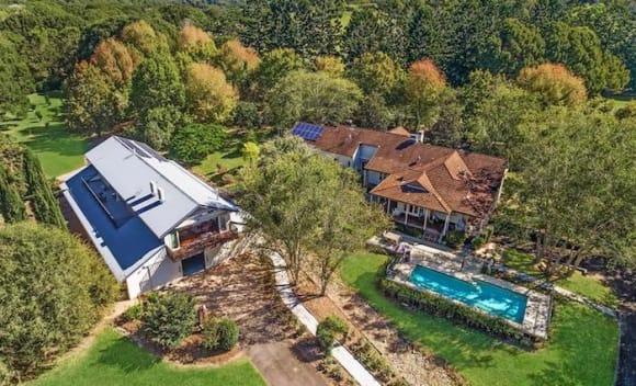 Lions great Jonathan Brown lists Gold Coast hinterland home
