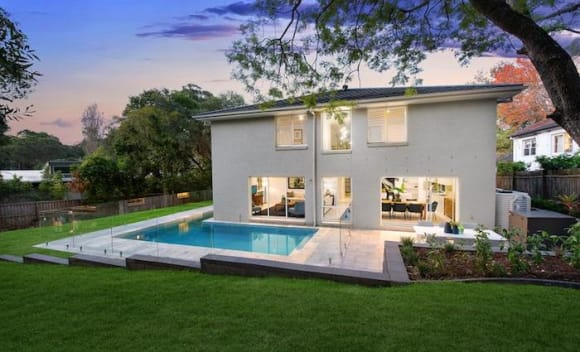 Pymble trophy home offering passed in at auction