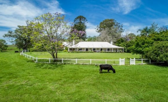 Historic 1840s Dyraaba Station listed at <img src=
