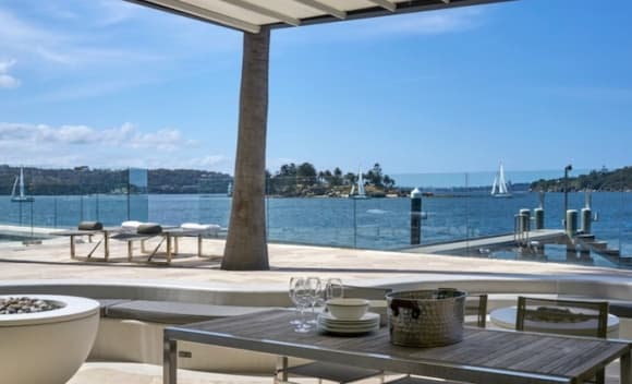 Point Piper waterfront Routala listed for  million