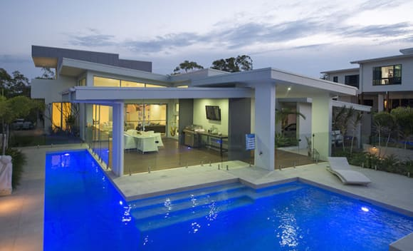 Most eye-candy properties in Gladstone take advantage of water views: HTW residential