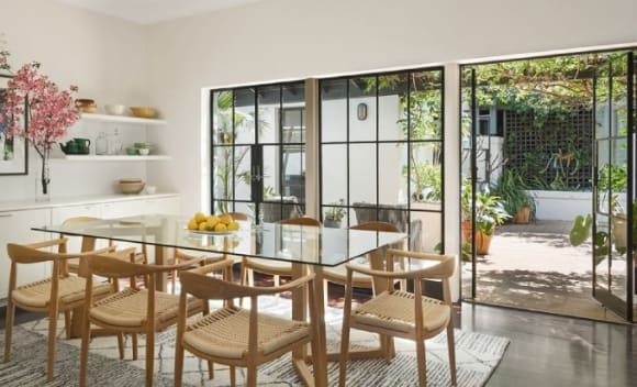 Veteran film producer Glenys Rowe lists in Coogee