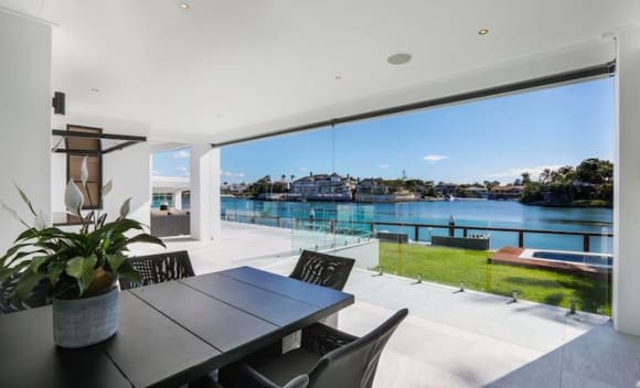 Broadbeach Waters tropical resort-style trophy home listed