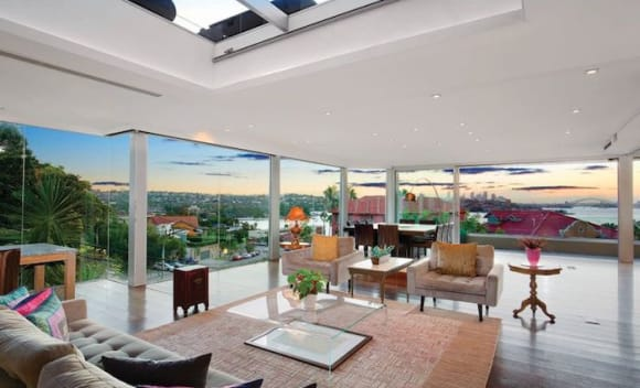 Rose Bay trophy home with panoramic Sydney Harbour views listed