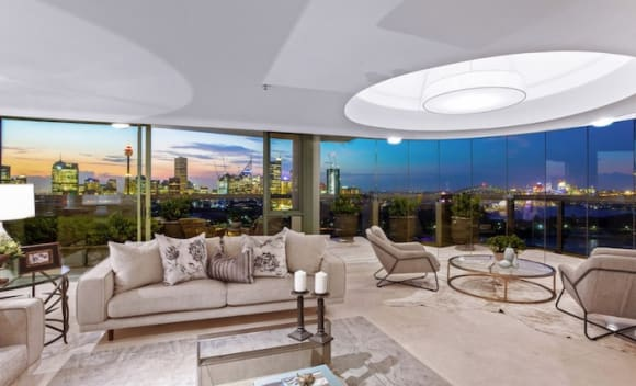 Rockwall, Potts Point penthouse listed by Sutton family after penthouse sales flurry