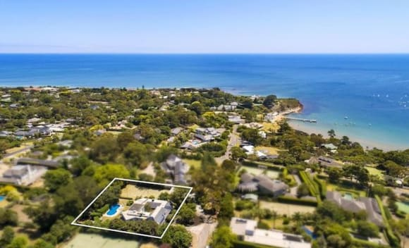 Architectural family home Waveney in Mount Eliza listed for  million